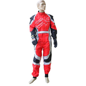 Racing Suit SK SpeedOne PRO - Red