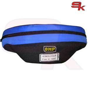 OMP - Padded Collar kart color BLUE homologated CIK / FIA
