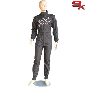 Racing Suit SK SpeedOne PRO - Black - CHILD