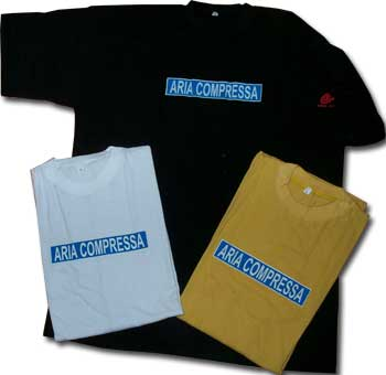 "T - Shirt - "" Compressed Air"" WHITE"