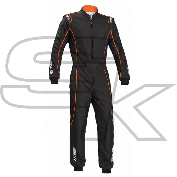 SPARCO -Suite GROOVE KS3 - 2019 BLACK FLUO ORANGE