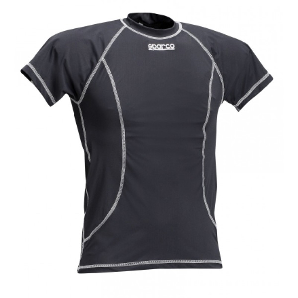 SPARCO - T-Shirt BASIC - BLACK