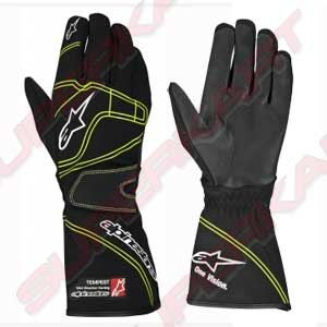 ALPINESTARS - Gloves Tempest Blacks/Fluo