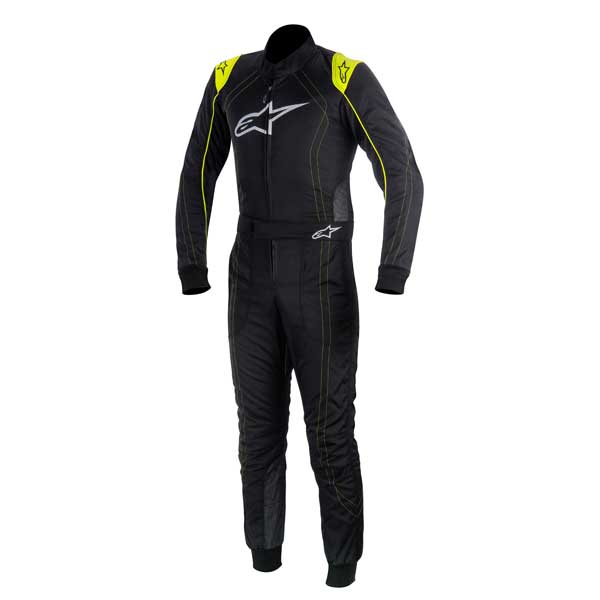 ALPINESTARS - Racing Suit K-MX9 - BLACK YELLOW FLUO