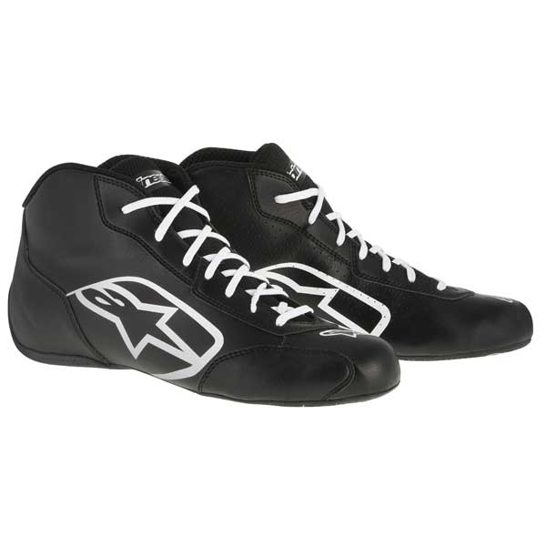 ALPINESTARS - Shoe Tech 1- K - Start BLACK WHITE