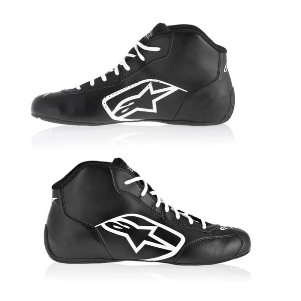 772778b1dc55 ALPINESTARS - Shoe Tech 1- K - Start BLACK WHITE  sk1916nb
