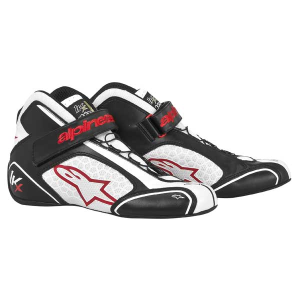 ALPINESTARS - Shoes Tech 1- KX 2015 - BLACK WHITE