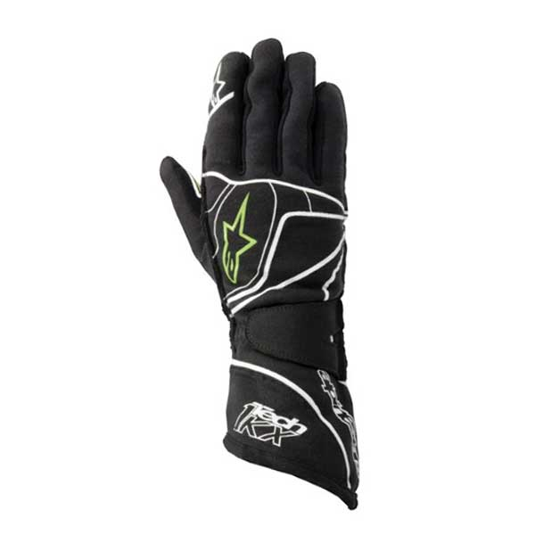 ALPINESTARS - Gloves Tech 1 - KX - Anthracite Green