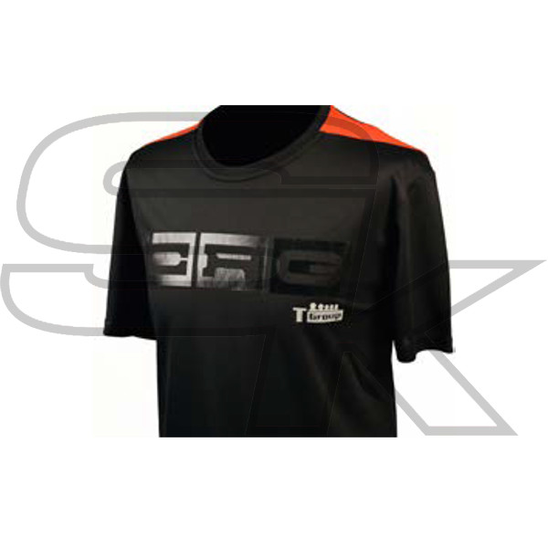 T-Shirt CRG Black and Orange - AAC.30172
