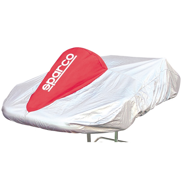 SPARCO - Telo Coprikart ROSSO