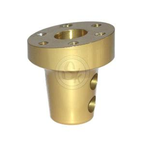 Aluminium Hub For Steering Wheel Inclined