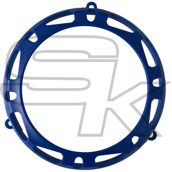 Clutch Cover Protection TM KZ10C/KZ-R1 - BLUE