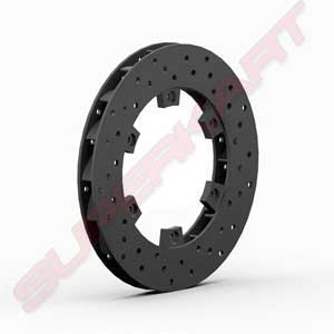 Rear Brake Disk Diam.200 mm in Cast Iron thickness 18 mm