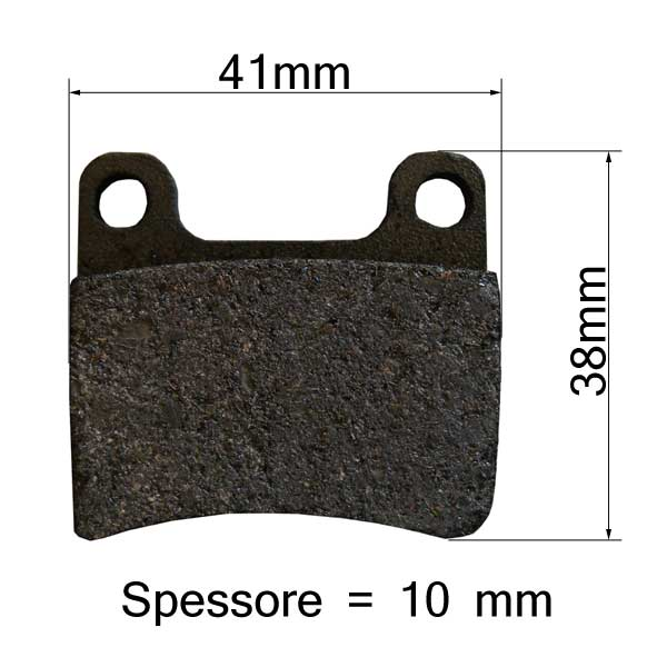 Brake Pads Front Pair - type INTREPID