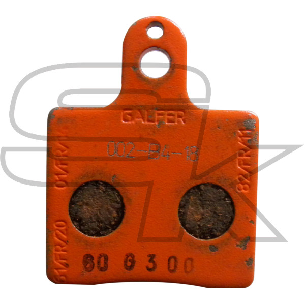 Pair of Front brake pads V05 ORANGE CRG AFS.02403