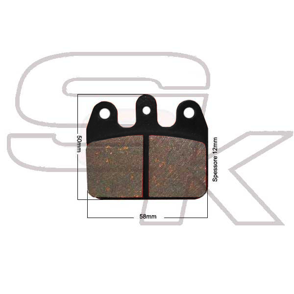 Brake Pads - REAR PAIR - CRG Type - ECO