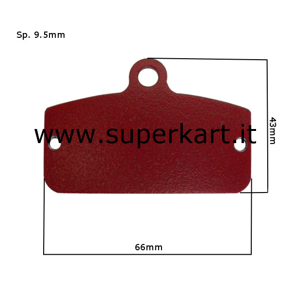 Brake Pads - Rear Pair - type SODI