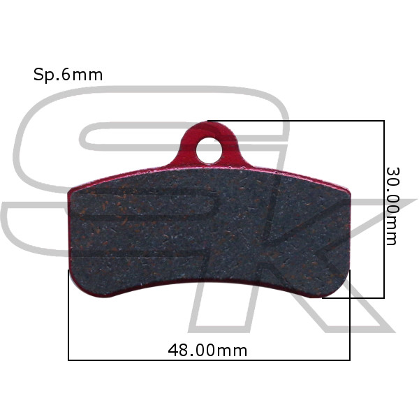 Brake Pads - Front Pair - type SODI New
