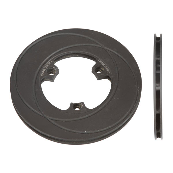 Front Self-Ventilated Brake Disk Diam.160 mm in Cast Iron