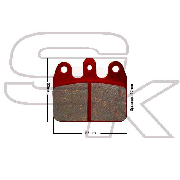 Brake Pads - Rear Pair - type CRG