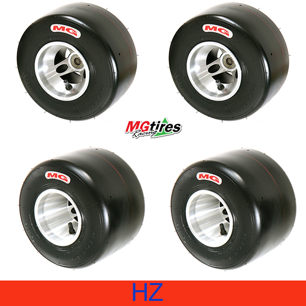 Tires Set MG HZ Red Type