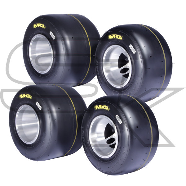 Tires Set MG SM YELLOW - CIK/FIA 2020-2022