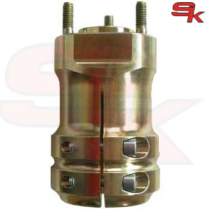 Magnesium Rear Hub 114 x 50 x 8 mm