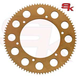 Sprocket in Ergal