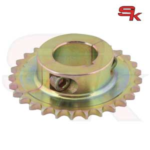 Sprocket for 125cc zincated for axle diameter 40 mm