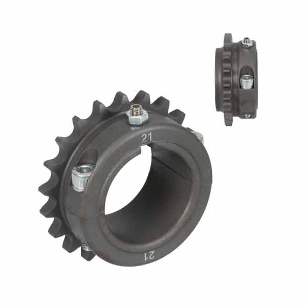 Sprocket for 125cc KZ in Ergal for axle diam. 50 mm
