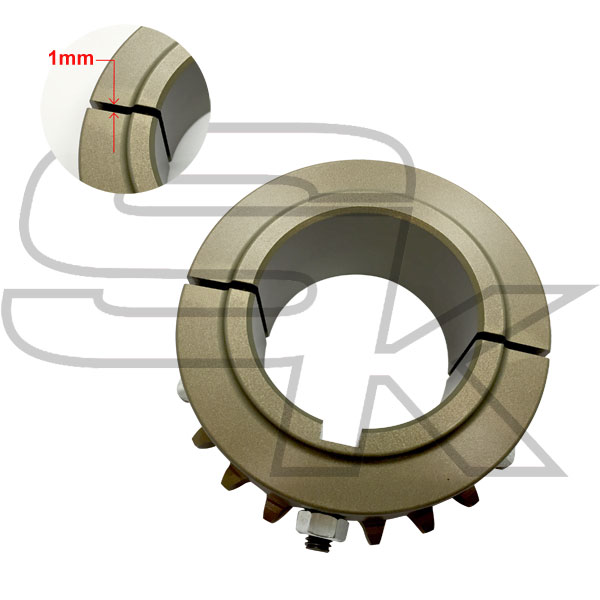 "Ergal Sprocket for 125cc ""1mm closing"" Axle diam. 50 mm"