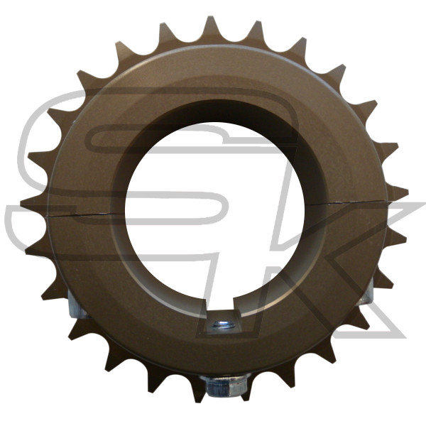 Ergal Sprocket for 125cc KZ Zero Space Axle diam. 50 mm
