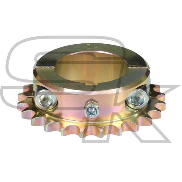 Sprocket in Steel for 125cc for axle diameter 50 mm