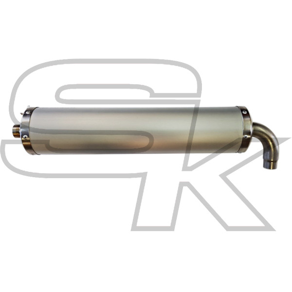 MC Racing - Exhaust Silencer NEW 2019