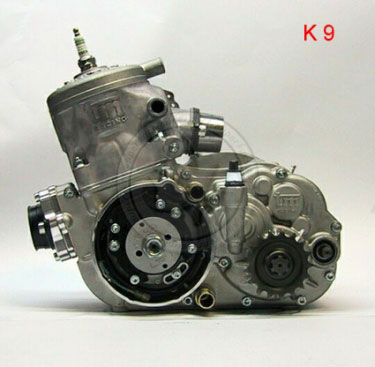 Technical information Engine K9 - 125cc