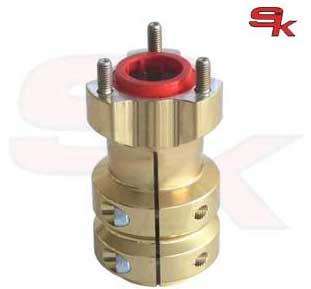 Aluminium Rear Hub 115 x 40 x 8 mm