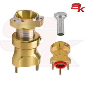 Drum Front Hub in Aluminium