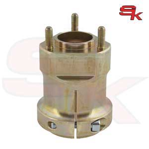 Magnesium Rear Hub 92 x 50 x 8 mm GOLD