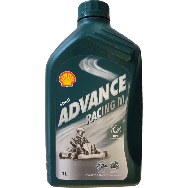 SHELL - Mélange d'huile - Advance Racing M30