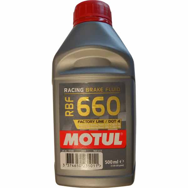 MOTUL - RBF660 - 500 ml - Special Oil for Hydraulic Brakes