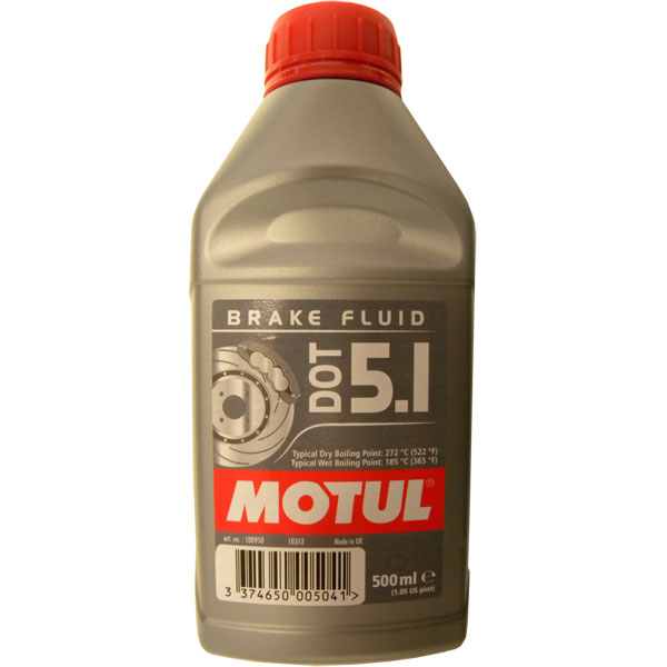 MOTUL - DOT 5.1 - 500 ml - Special Oil for Hydraulic Brakes