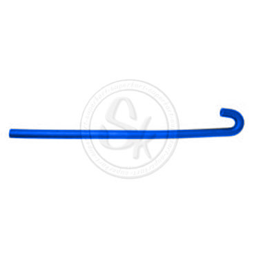 Pipe with Bend to 180° for Water Radiator BLUE