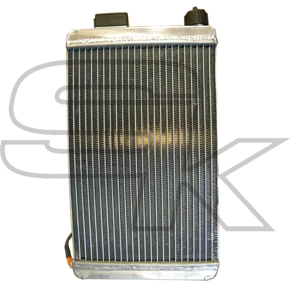 Radiator With Heating Device