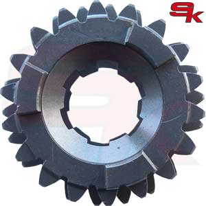 Gear, 3/4 Mainshaft 18/22T, TM 40437