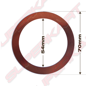 Underhead copper gasket, TM 05354