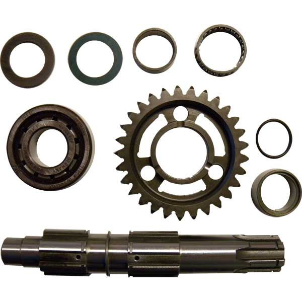 Kit secondary Shaft For KZ10B Ø 21mm, TM 40468