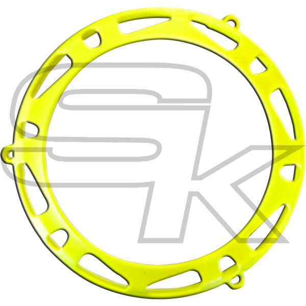Carter protection embrayage TM KZ10C - JAUNE FLUO
