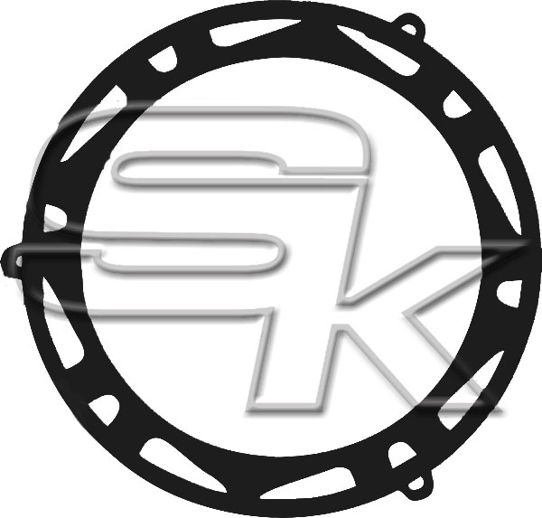 Clutch Cover Protection TM KZ10C/KZ-R1 - BLACK