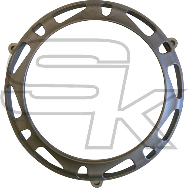 Clutch Cover Protection TM KZ10C/KZ-R1 - GREY