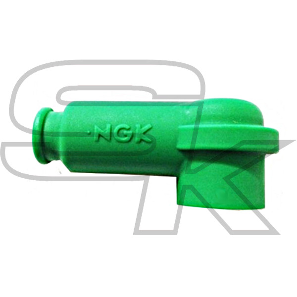 Cap for Spark Plug - NGK e BRISK - GREEN